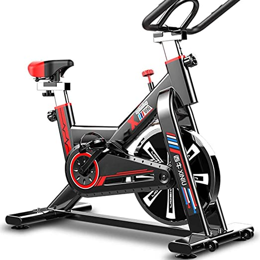 UNKB Spinning silencioso for Bajar de Peso Interior Nuevo hogar Deportes Equipos de Gimnasia, Ciclos Estudio de Interior Entrenamiento aeróbico Cardio Fitness Bicicleta estática Bici de Ejercicio: Amazon.es: Hogar