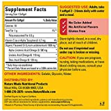 Nature Made Flaxseed Oil 1000 mg Softgels, 180