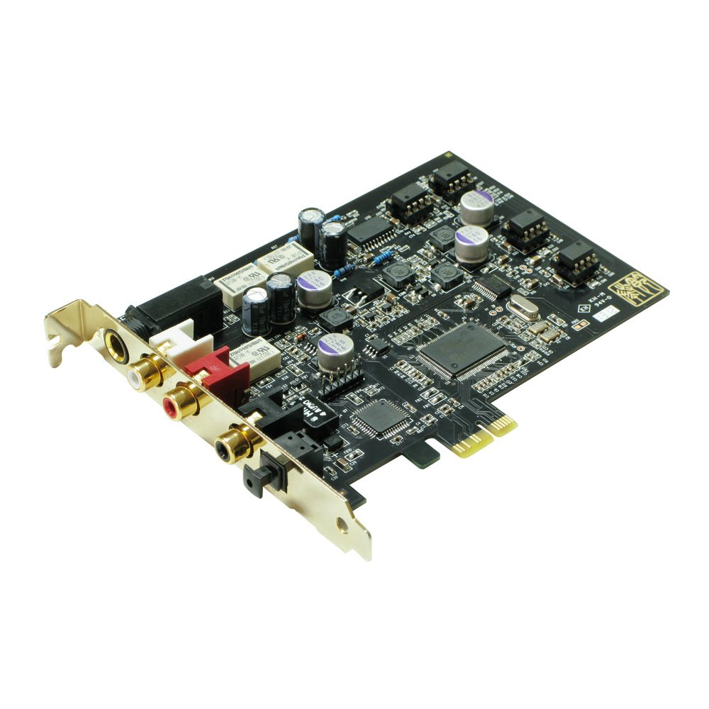TEMPOTEC Serenade PCI Express Sound Card with High Resolution Headphone Amp
