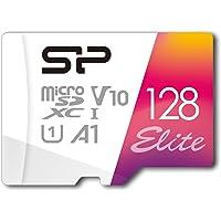 シリコンパワー microSD カード 128GB class10 UHS-1 対応 最大読込75MB/s full HD 【Amazon.co.jp限定】