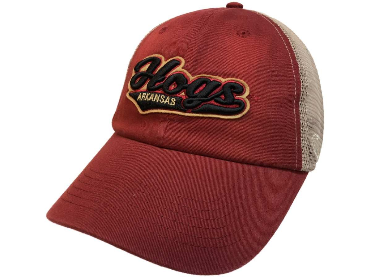 0bf63049 Amazon.com : Top of the World Arkansas Razorbacks Tow Red with Tan Mesh  Hogs Snapback Slouch Hat Cap : Sports & Outdoors