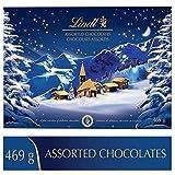 lindt christmas alpine village assorted chocolates, gift box, 469g