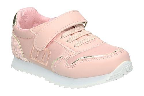 Mustang 47601 - Zapatillas Niña Rosa Talla 24: Amazon.es: Zapatos y complementos