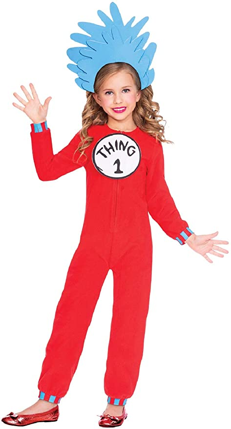 Fancy Me Disfraz de Dr Seuss para niños y niñas, con diseño de ...