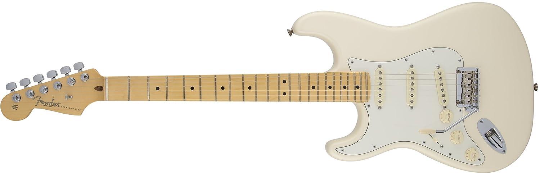 Fender 0113022700 American Standard Stratocaster Guitarra eléctrica de diapasón de arce para zurdos, Sunburst-P: Amazon.es: Instrumentos musicales