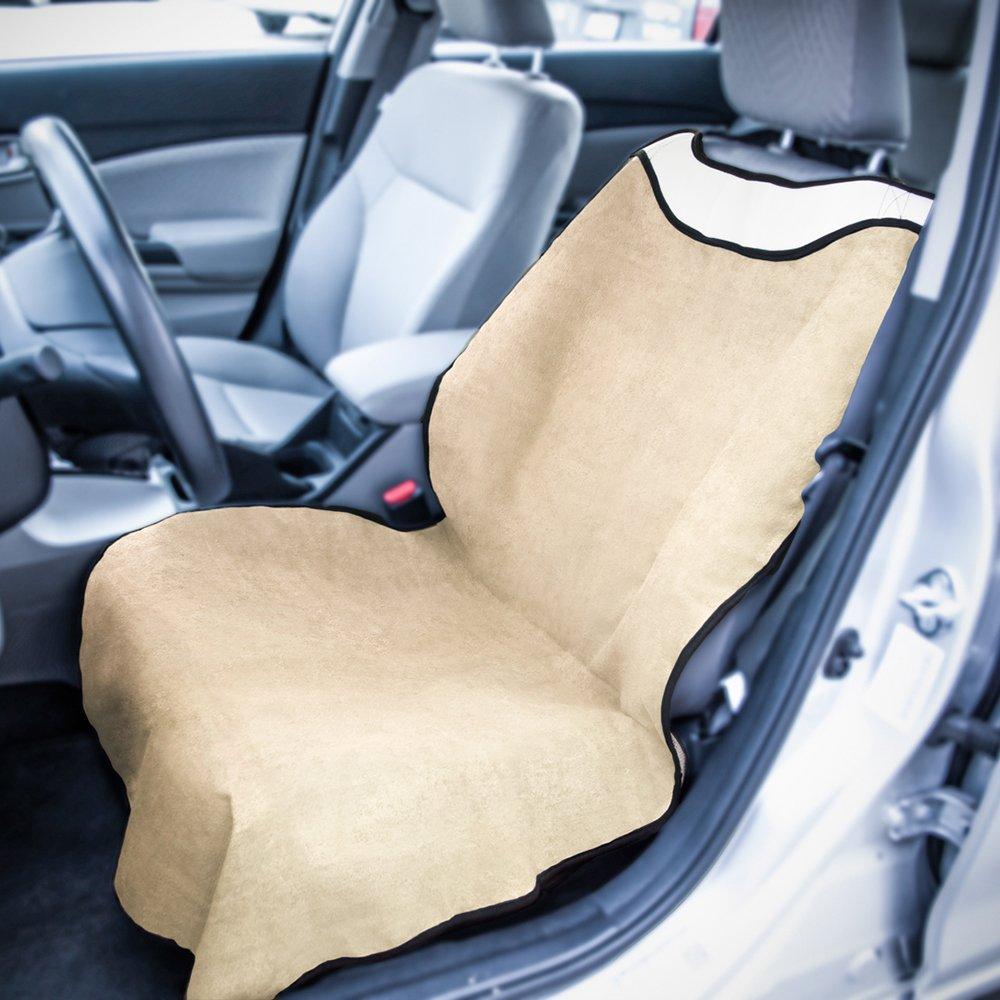 Amazon.com: OxGord Yoga Sweat Towel Auto Seat Cover for Athletes ...