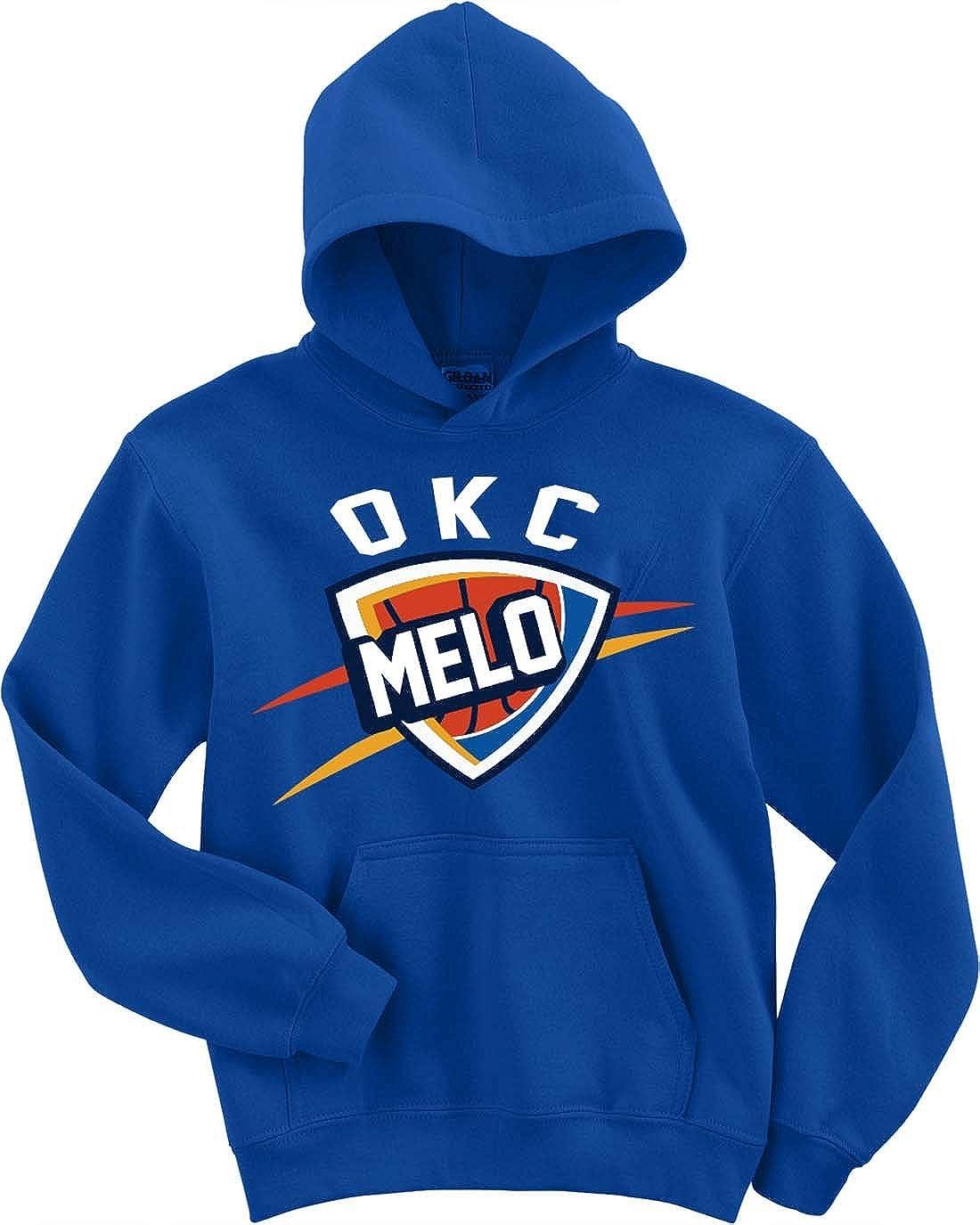The Silo Blue Oklahoma City Melo Logo Hooded Sweatshirt