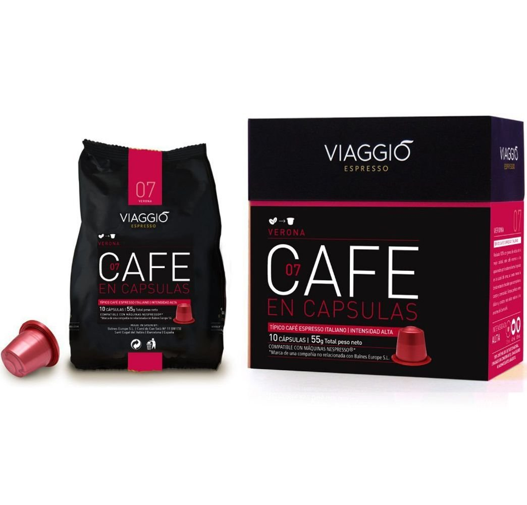 VIAGGIO ESPRESSO - 120 capsules de café compatibles avec Nespresso - VERONA: Amazon.com: Grocery & Gourmet Food
