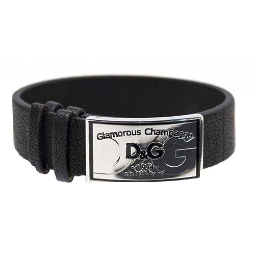 5d894b53061b Dolce   Gabbana DJ1093 - OK CORAL - Pulsera de hombre de acero inoxidable