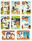 2018 Topps Heritage (Base 1-400) - LOS ANGELES DODGERS Team Set
