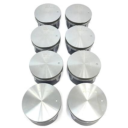 Brand New Set of 8 - LS2 LQ4 LQ9 6 0L Pistons OEM Flat Top (Bare)