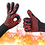 MerceHygea 932°F Extreme Heat Resistant Gloves for Cooking, BBQ, Grilling, Frying & Baking,1 Pair 14
