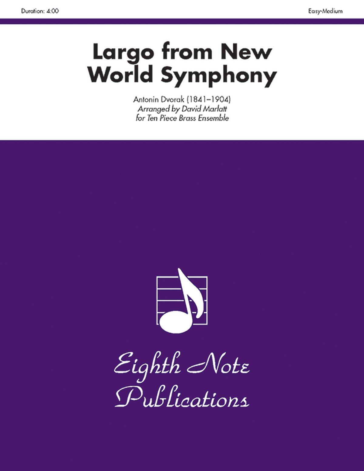 Download Largo (from New World Symphony): Score & Parts (Eighth Note Publications) pdf epub