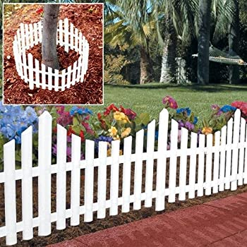 Amazon Com Picket Fence Edging Small Picket Fence