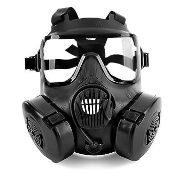 M50 Airsoft táctico Paintball máscara de protección adultos casco completo de calavera Gas CS máscara con