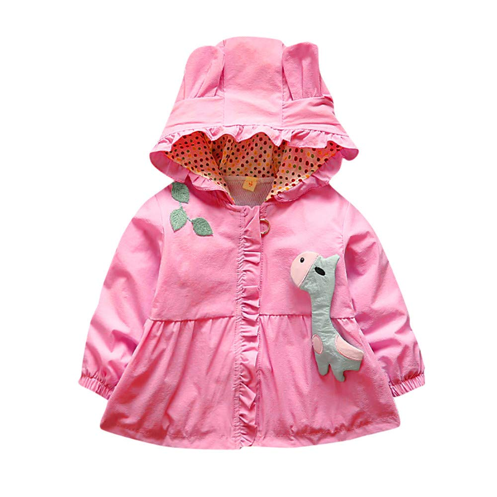 Amazon.com: Newborn Girl Autumn Winter Coat,Jchen(TM) Newborn Baby Girls Long Sleeve Hooded Jackets Coat Kids Outwear for 0-24 Months (Age: 0-6 Months, ...