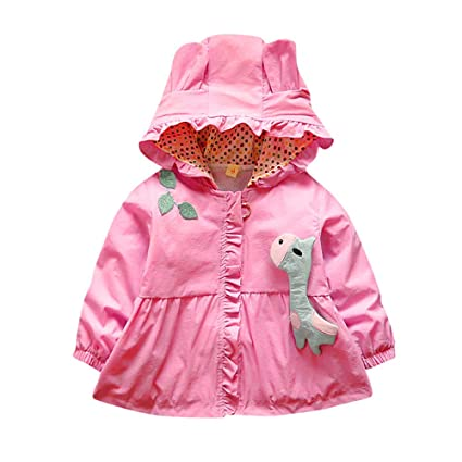 Newborn Girl Autumn Winter Coat,Jchen(TM) Newborn Baby Girls Long Sleeve Hooded