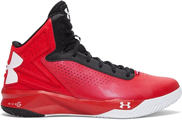 Under Armour Torch Basketball Red