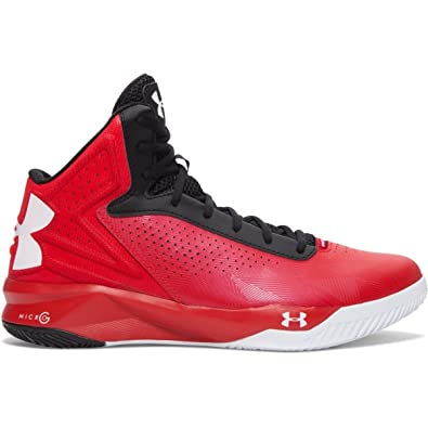 Under Armour Men's Micro G Torch Basketball Shoes Red Size 8 ...