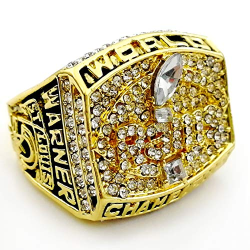 OMG-LIFE St. Louis Rams 1999-2000 Super Bowl Replica Championship Ring Size 9/10/11/12 Los Angeles Rams (11, St. Louis Rams)
