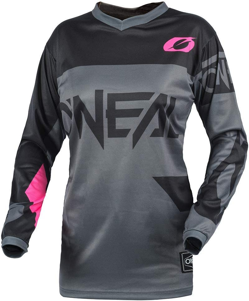 Gray//Pink, M ONeal Element Women/´s Jersey Racewear
