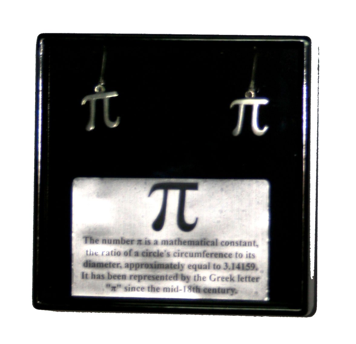 Pi Symbol Earrings Industrial Products Amazon Industrial
