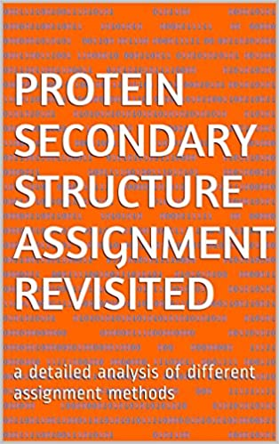 Read online Protein secondary structure assignment revisited: a detailed analysis of different assignment methods PDF