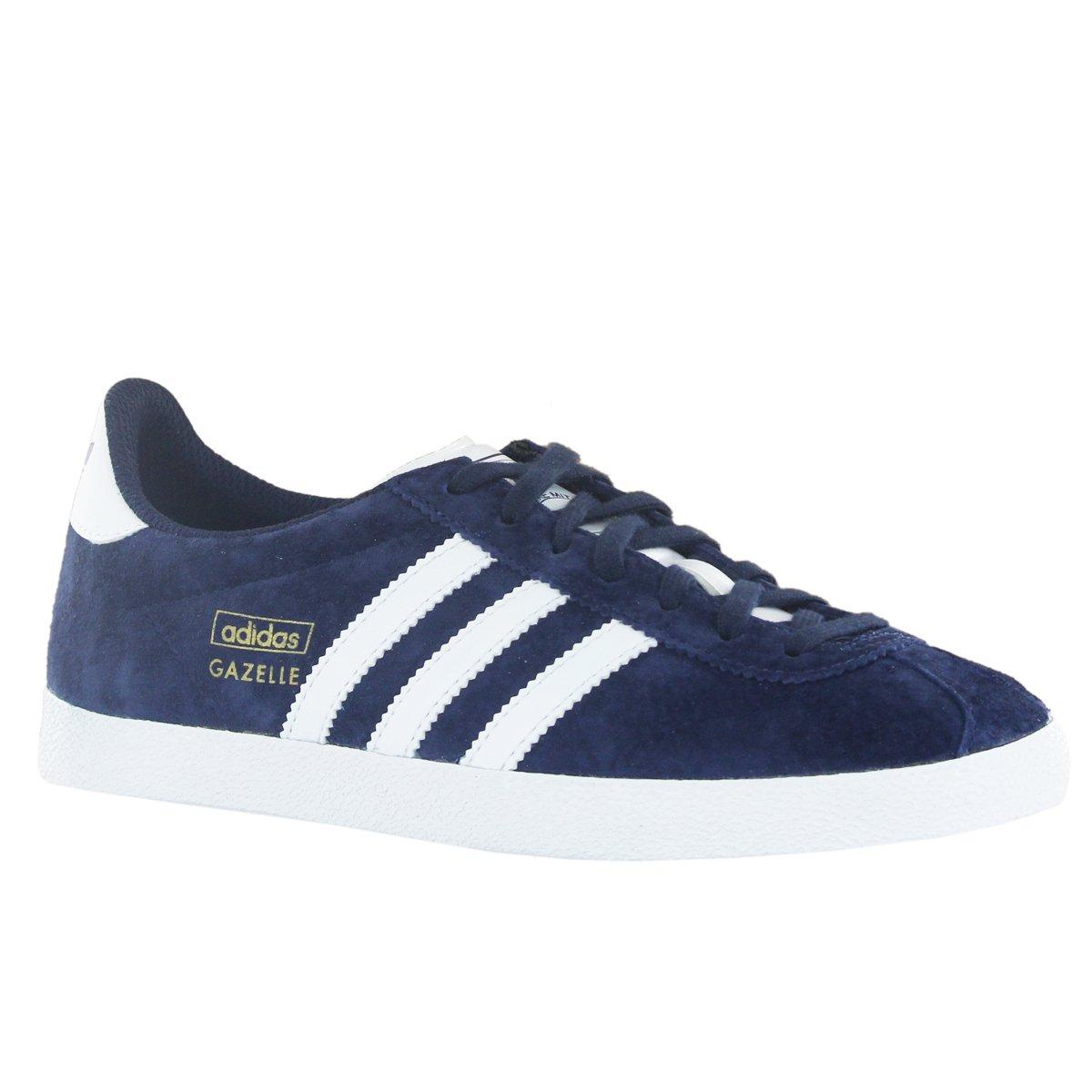 7b7381a2d568a7 Adidas Gazelle OG Blue White Womens Trainers Size 4 UK  Amazon.co.uk  Shoes    Bags