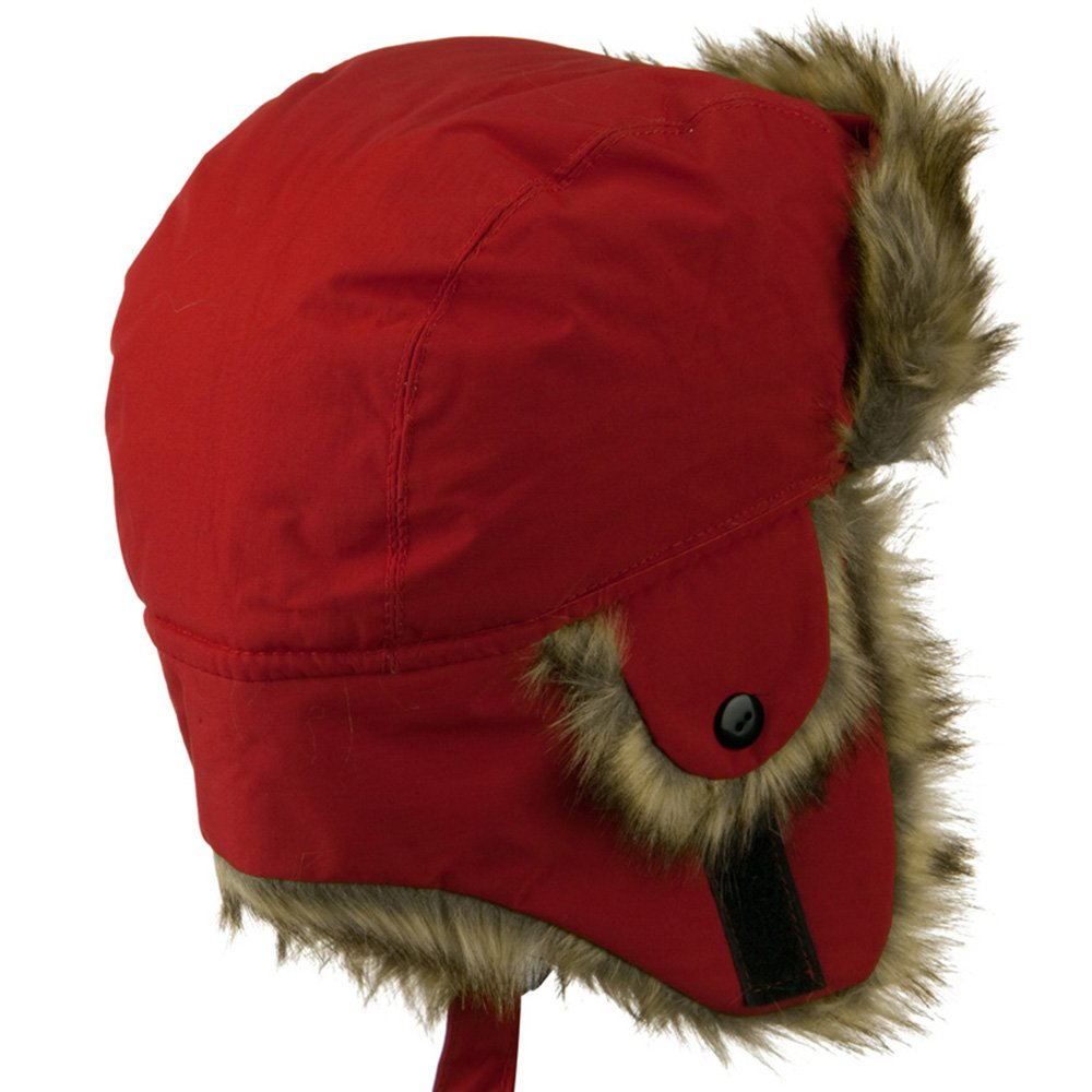 Youth Trapper Hat Red W21S22F