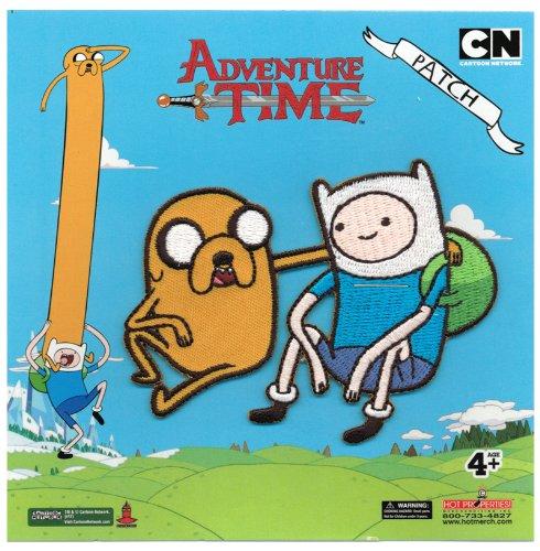 Adventure Time Finn & Jake Patch Toy Zany