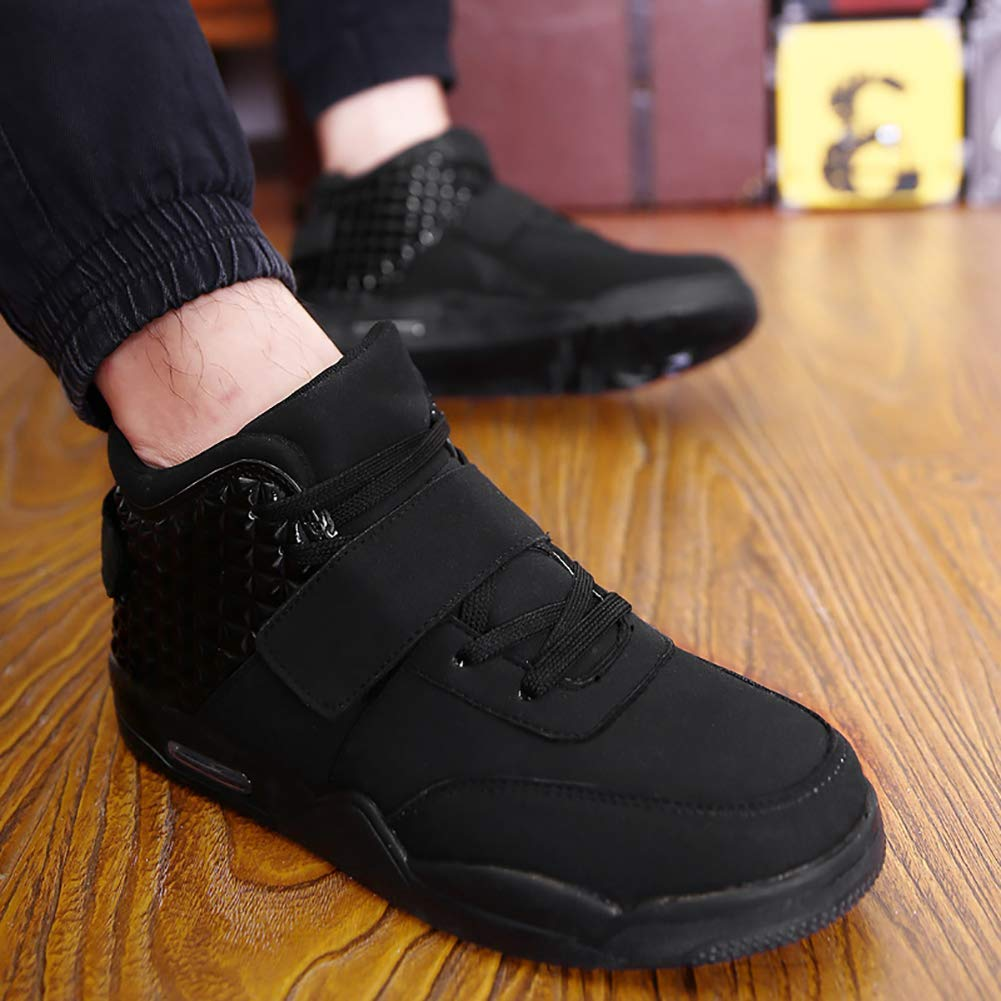Kerlana Botas de Baloncesto para Hombre Zapatillas de Deporte de Alta Gama Zapatillas Deportivas al Aire Libre Ligero Transpirable Correr Entrenadores Informales