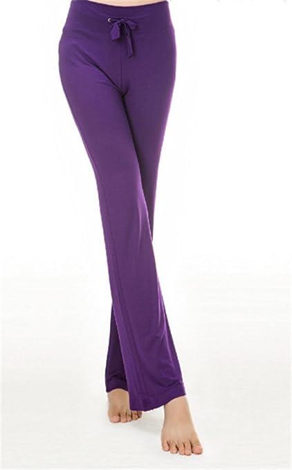 hippolo de chándal Mujer pantalón Casual Recto Pantalones con ...