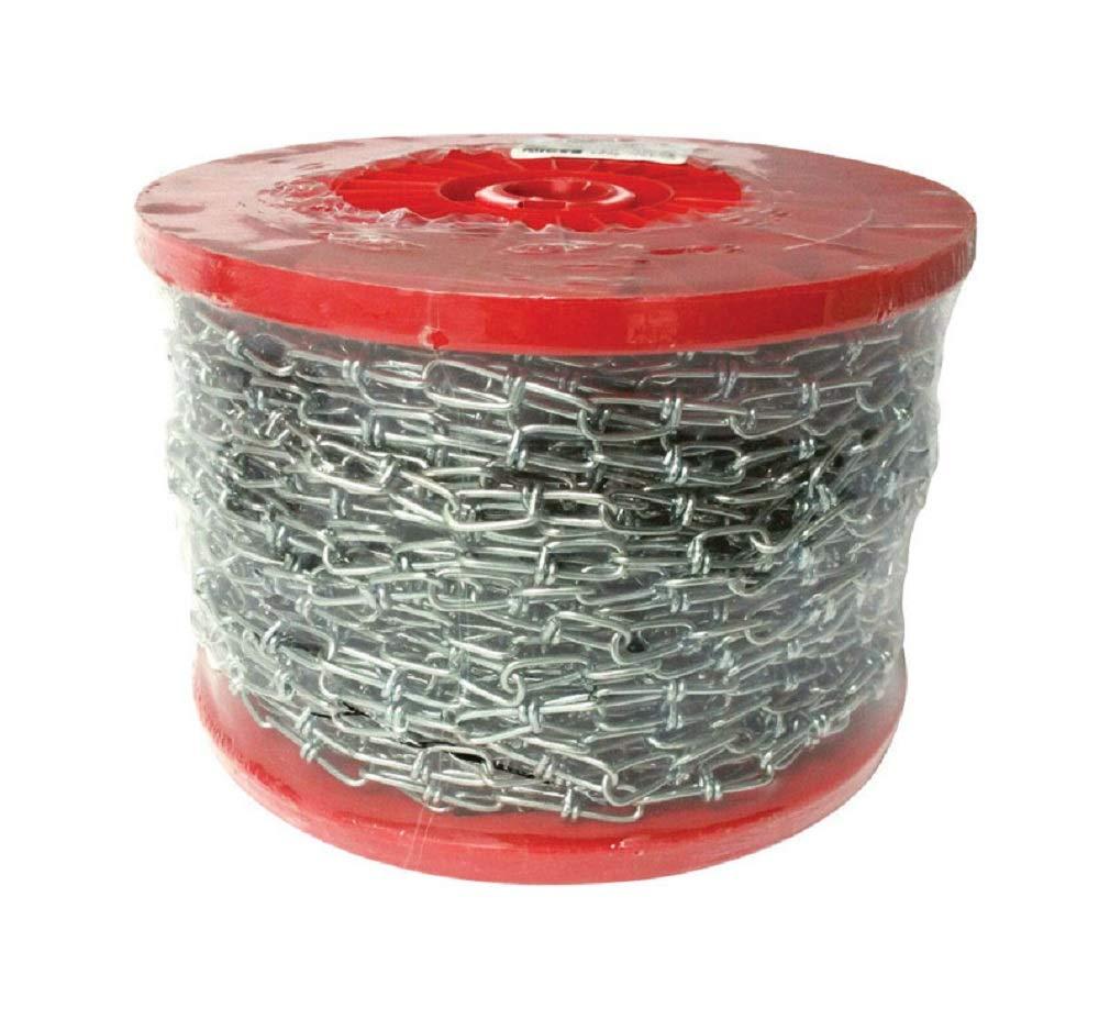 Baron 7223 Double Loop Chain, Steel, 200' L