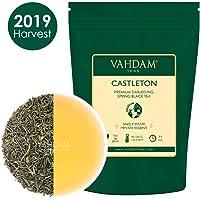 VAHDAM, Premier Thé 2019 de l'Iconic Castleton Tea Estate | 3,53Oz, 100g | Feuilles de thé noir cueillies à la main exclusives | Un thé noir parfait pour tous les jours