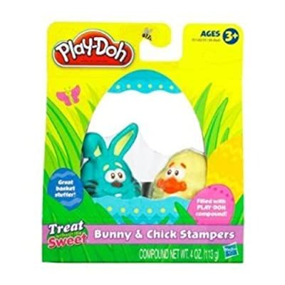 Hasbro Play-DOH Bunny and Chick STAMPERS: Toys & Games [5Bkhe0708350]
