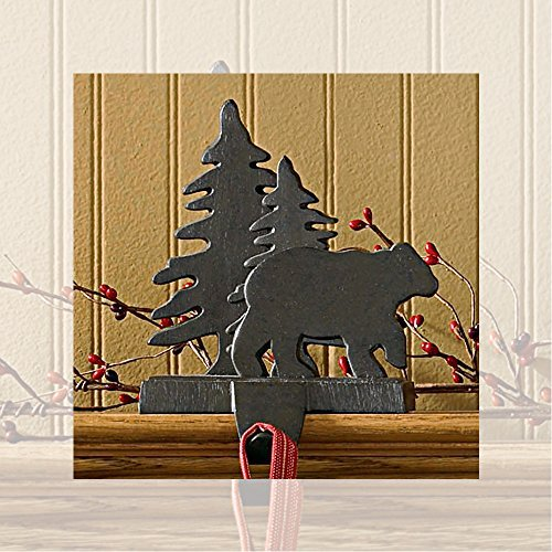 Park Designs Bear and Tree Stocking Hanger ()