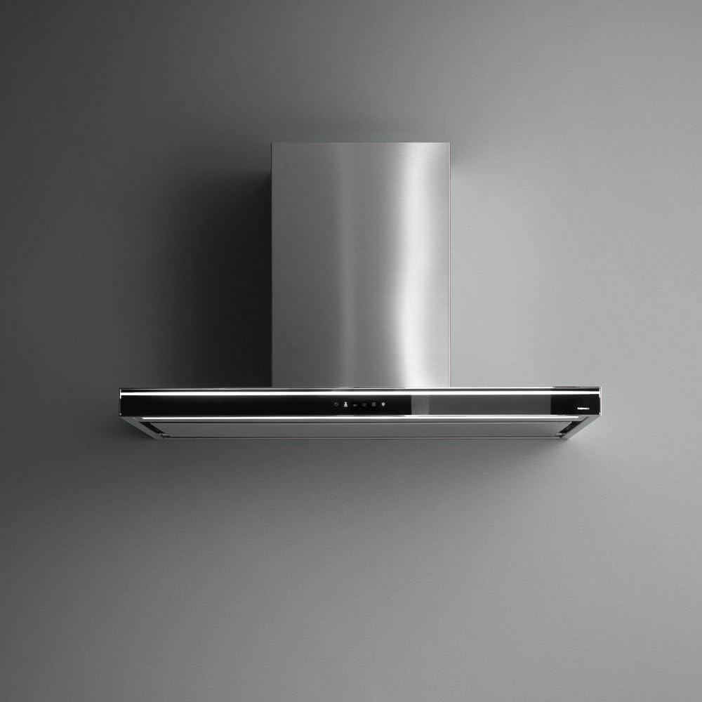 Falmec – Campana de pared Lumina NRS acabado acero de 120 cm: Amazon.es: Hogar