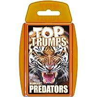 Deadliest Predators Top Trumps Card Game