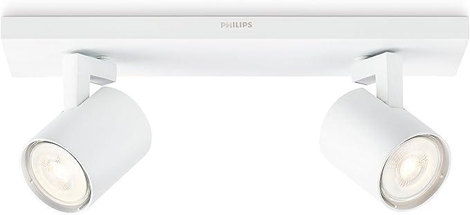 Philips myLiving Runner Led LED Deckenleuchte dimmbar 35W GU10 Warmweiss ...
