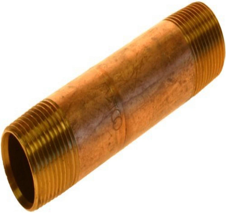 10-Pack Plumbers Choice 92742 1-Inch x 2-Inch Galvanized Nipple