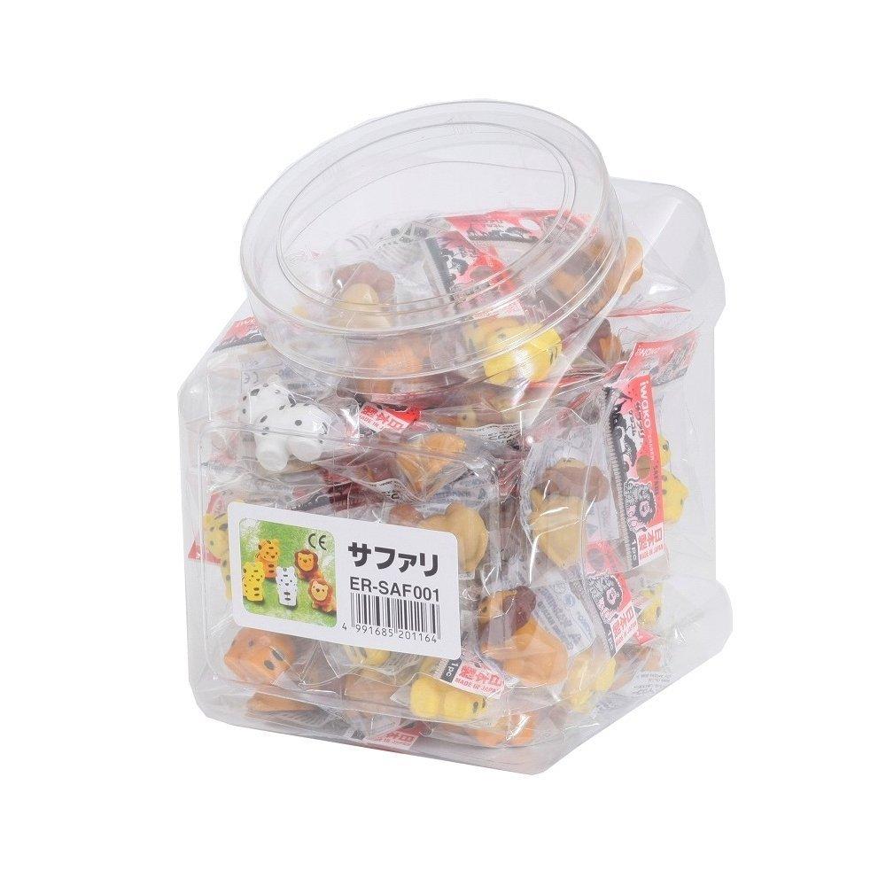 Iwako – Safari Tiere Radierer 60pcs in sortiert, Karton Karton Karton scersaf001 (Japan Import) B00KSEZLXY | Angenehmes Aussehen  8419b2