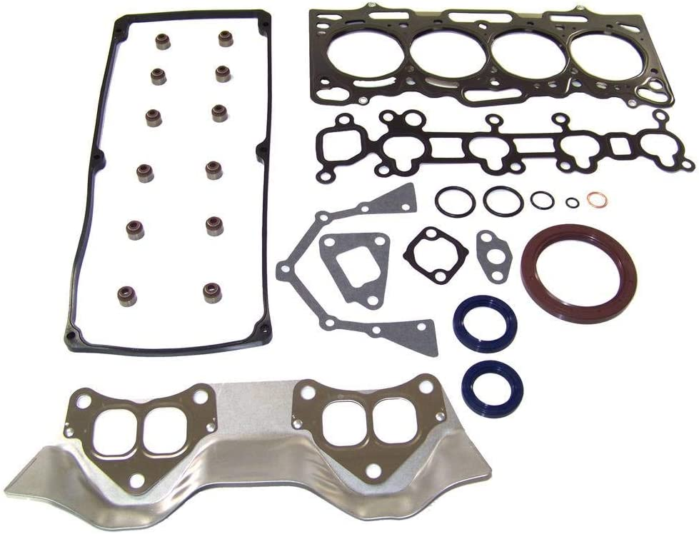 DNJ EK156 Engine Rebuild Kit for 1997-2002 1.5L SOHC 90cid Mitsubishi//Mirage 4G15 12V L4