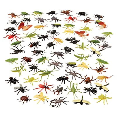 U.S. Toy VL134 Assorted Insects(72 Piece): Toys & Games