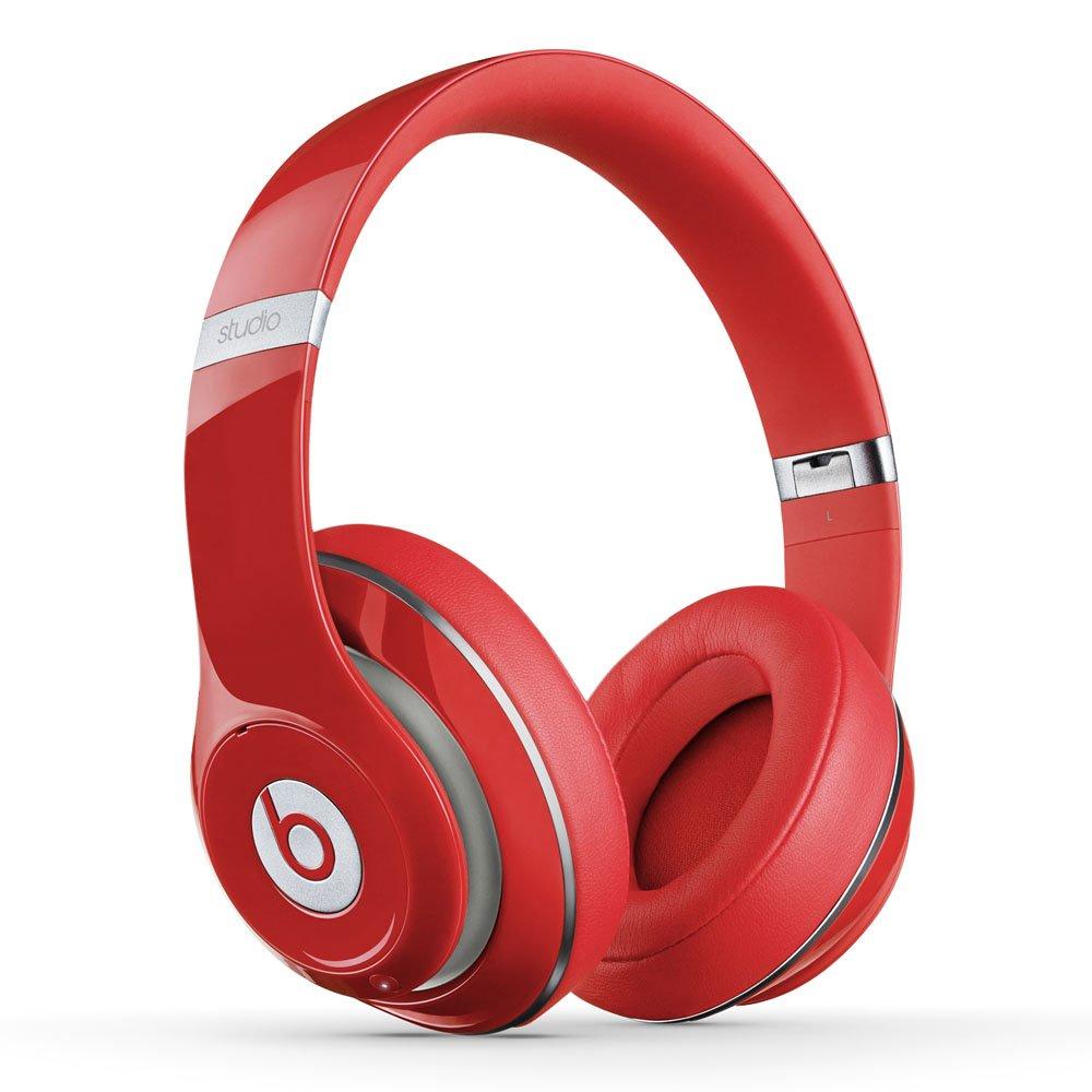 amazon com beats studio wireless over ear headphone red home