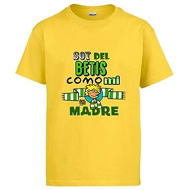 Diver Camisetas Camiseta Real Betis Soy del Betis como mi Madre ...