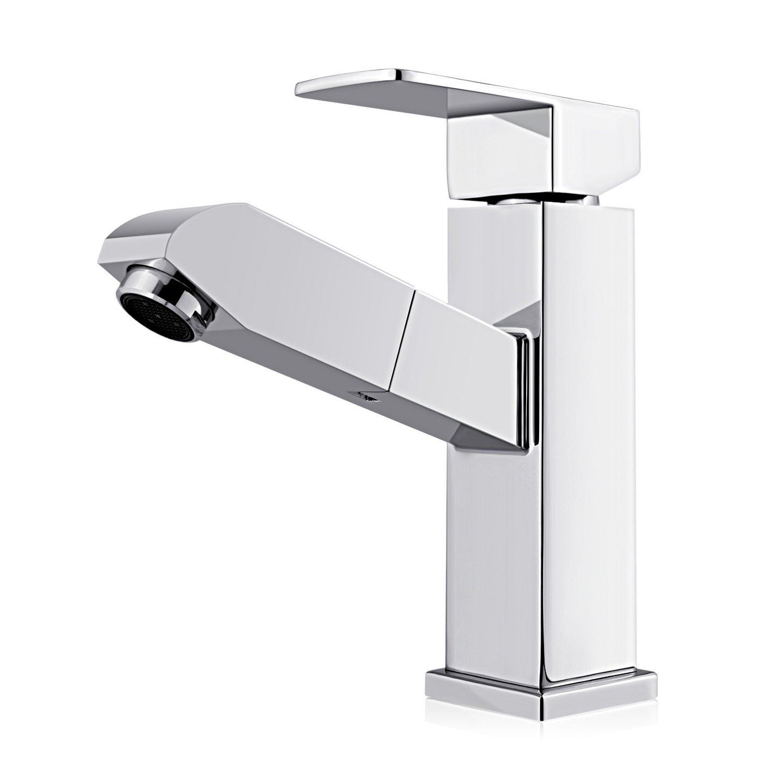 homfa rubinetto estraibile con doccia estraibile cucina bagno miscelatore beccuccio estraibile rubinetteria lavabo lavello multifunzioni