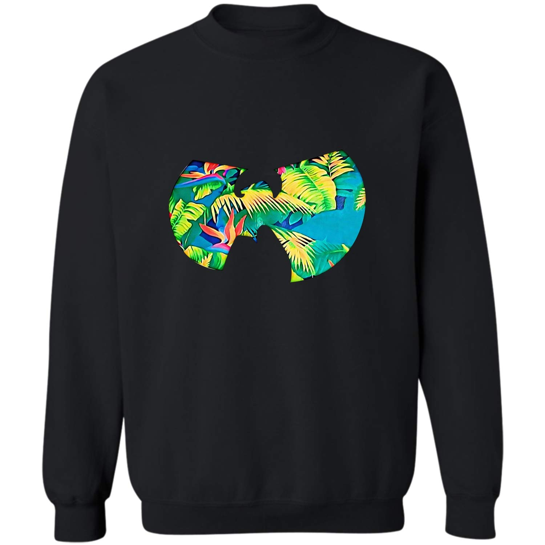 Wutang Leaf Tee Clan Logo Music Shirtfunny Gift For