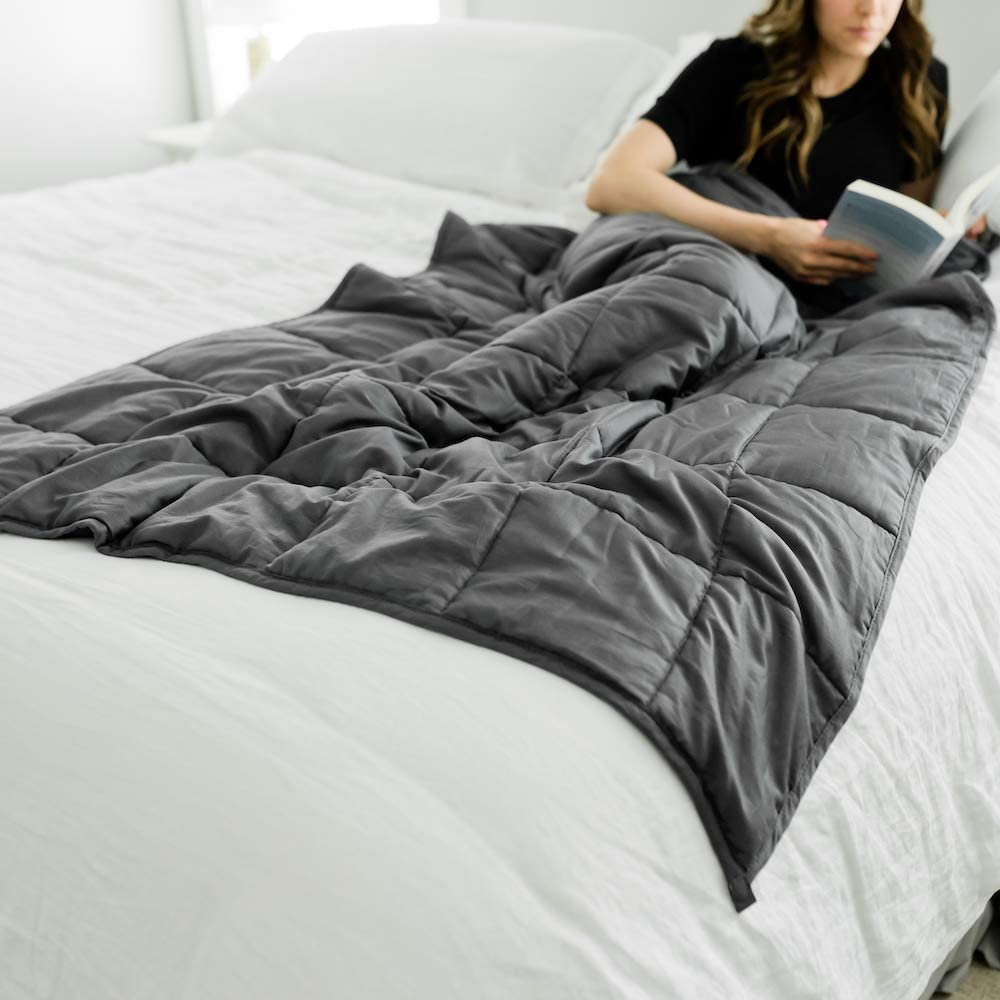 """GRACED SOFT LUXURIES Weighted Blanket Heavy Blanket Weighted Blanket for Teens 
