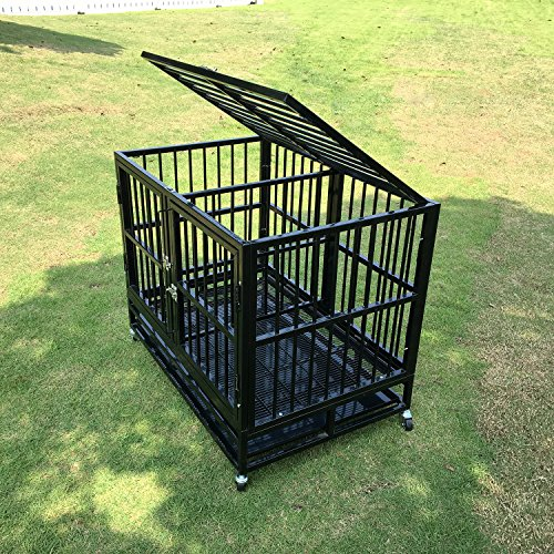 37 Heavy Duty Pet Kennel Crate House Dog Cat Rabbit Cages