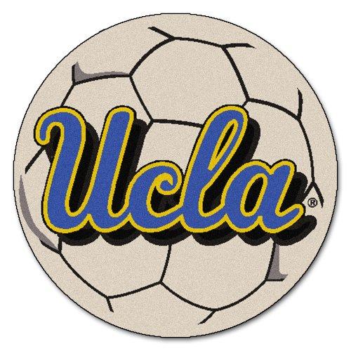 Football Rug Los Angeles - FANMATS NCAA UCLA Bruins Nylon Face Soccer Ball Rug